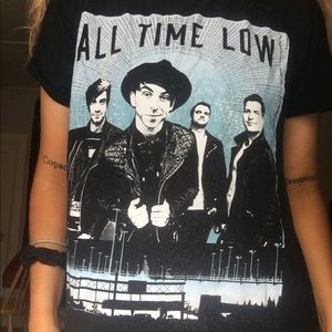 All time low future hearts tour shirt